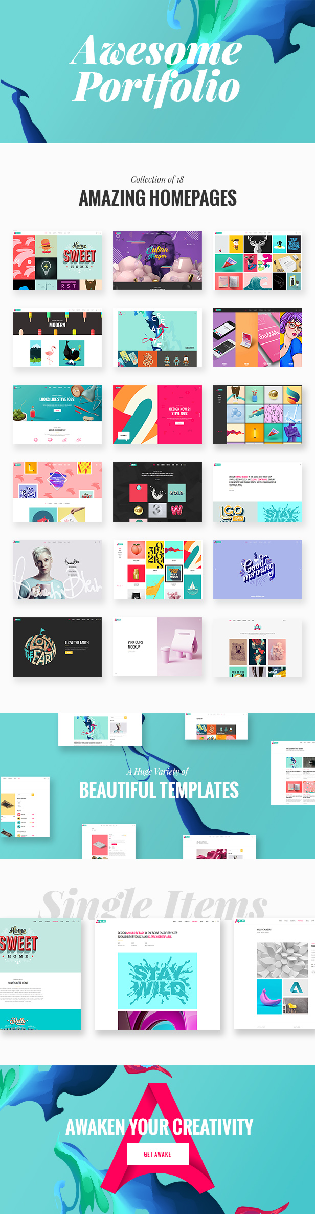 Awake - Creative Portfolio Theme - 1